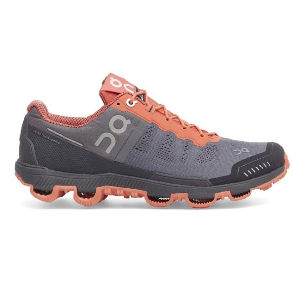 825de7fec3 On Cloudventure 2016 - Womens Trail Offroad Running Shoes - Grey Lava