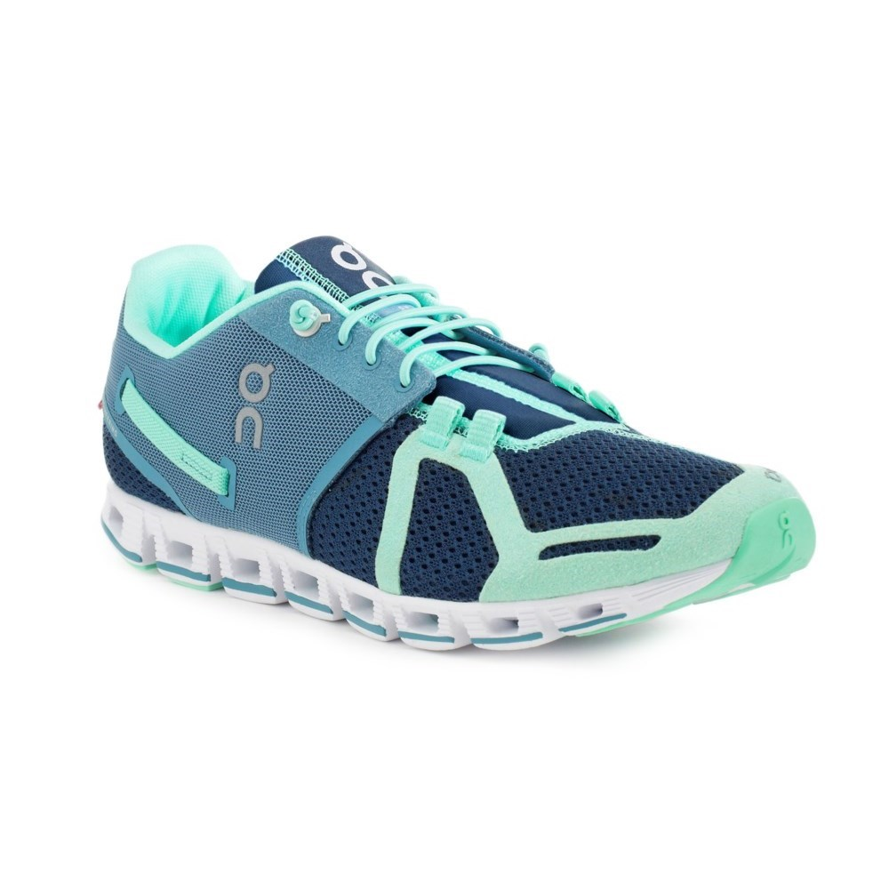 Mint Blue Running Shoes